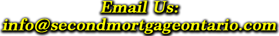 Email second mortgage ontario